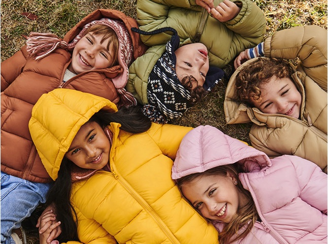 Cotton On Kids lay-by tile