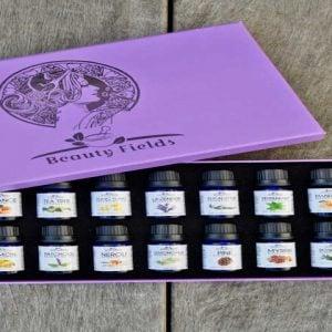 14 essential oils gift