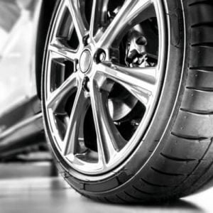 gas and tyre
