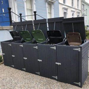 Wheelie Bin Storage Units