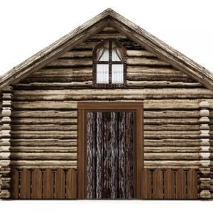 log-cabins